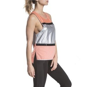 Orange Silver Lime & Vine Rachel Muscle Tank NWT